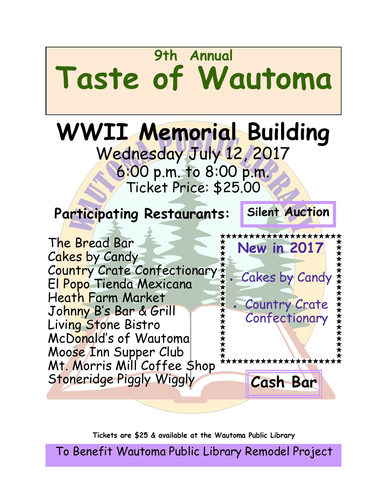 Taste of Wautoma July 12