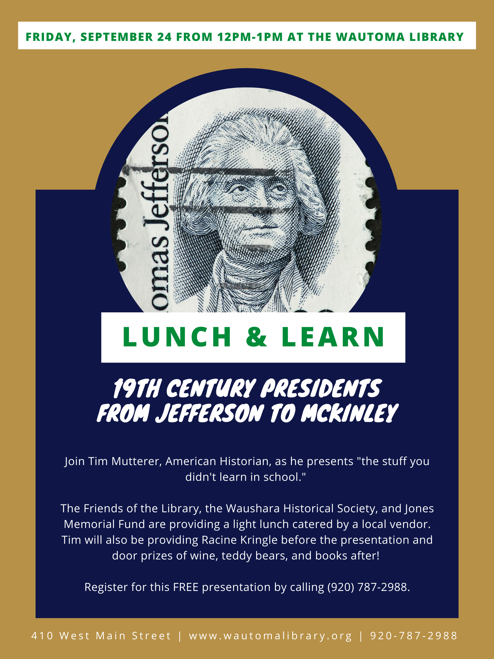 Free Lunch & Learn- meal and door prizes!